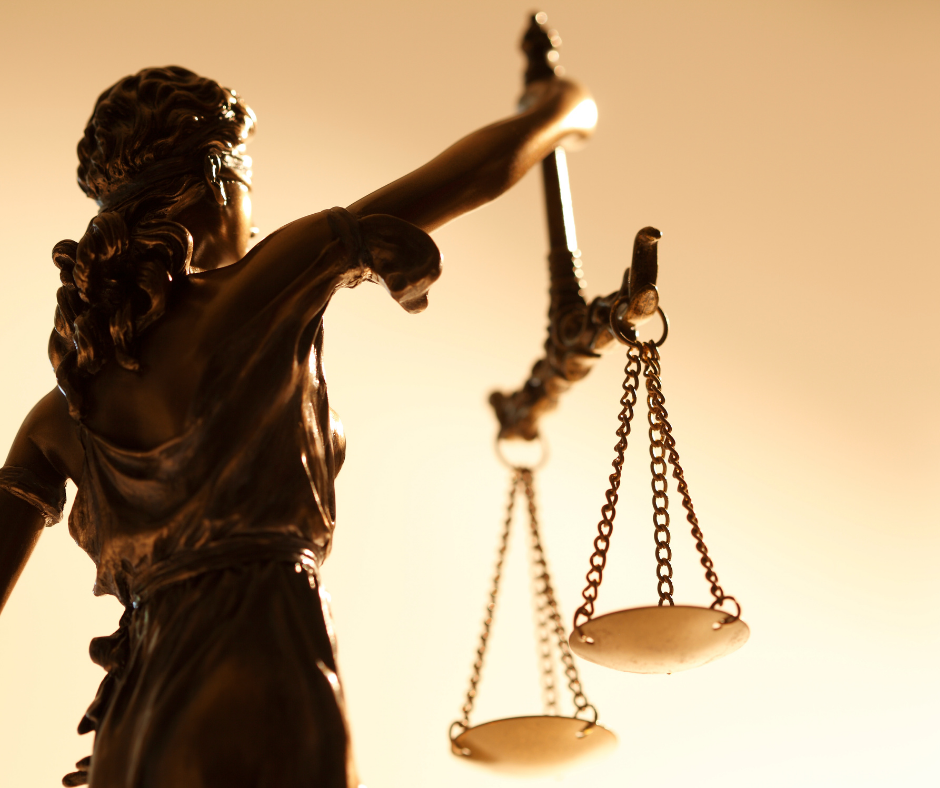 Car Crash Injury Lawyer | Lady Justice and her scales