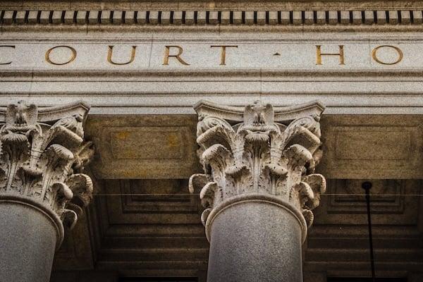 Palacio de Justicia en Nueva Jersey