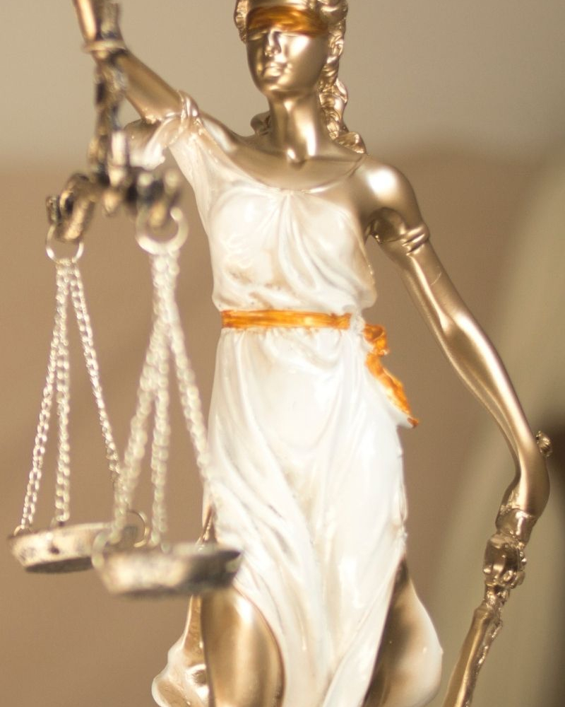 Lady of Justice | Workers' Comp Lawyer